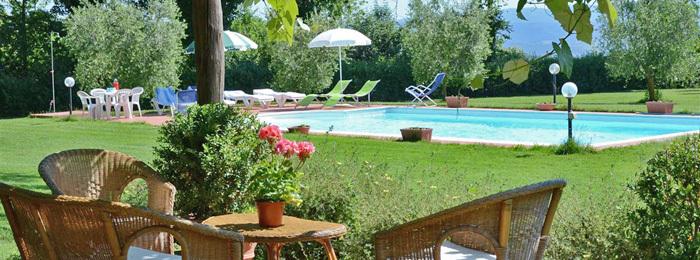 Villa il Leccio countryhouse rent umbria