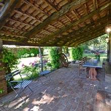 Villa il Leccio Country House rent in Umbria - Pergola